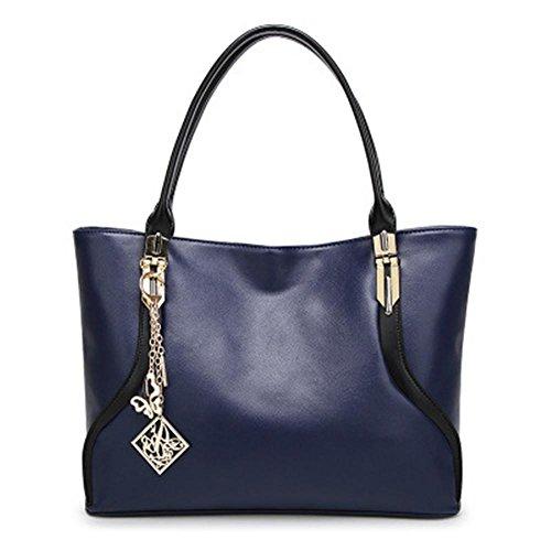Sacchetto di spalla casuale di modo delle signore della borsa Blue