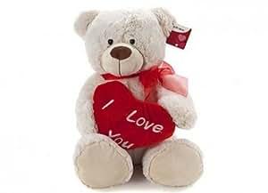 "16 ""Peluche romantique cadeau Saint Valentin luxe Love Heart Henry Teddy Bear"