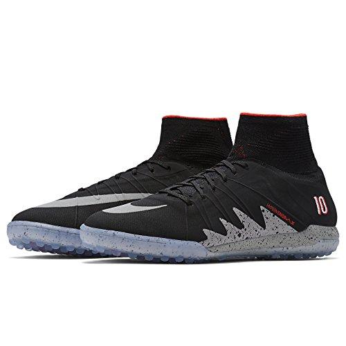 Nike Hypervenomx Proxi Mo Njr Tf, Scarpe da Calcio Uomo Nero (nero)