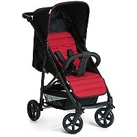 Hauck Rapid 4 - Silla de paseo deportiva para bebes de 6 meses hasta 15 kg, con barrera delantera, sistema de arnés de 5 puntos, ruedas desmontables, respaldo reclinable, plegable
