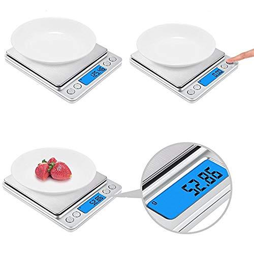 Xu-xiazhi,bilancia da cucina per cucina(color:bianco del latte)