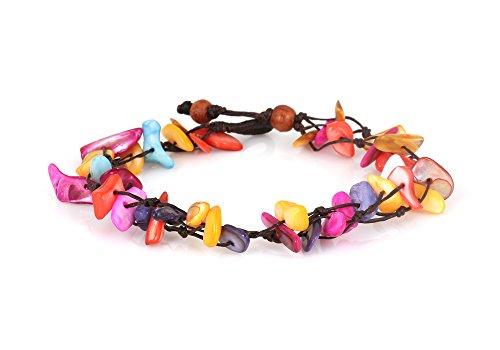 mgd-multicolore-bracciale-cavigliera-conchiglia-2-filo-bracciale-cavigliera-bracciali-cavigliera-don