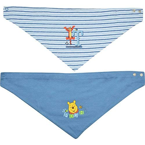 "Winnie the Puuh Winnie Puuh - Baby Halstuch""Puuh/Tigger"", 2er Pack, blau"