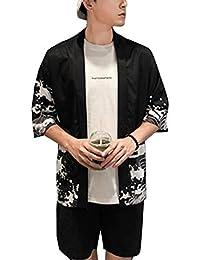 salvare 02341 33ade Amazon.it: kimono uomo - T-shirt, polo e camicie / Uomo ...