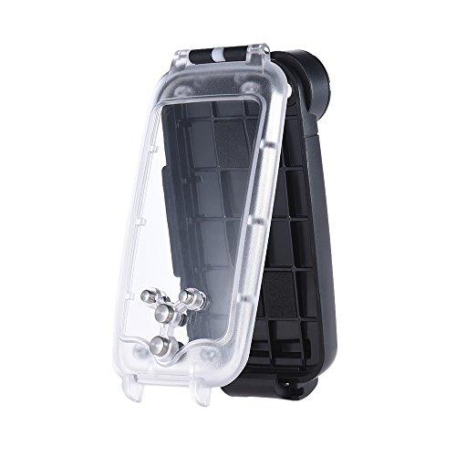 Andoer Handy Smartphone wasserdichtes Tauchen Gehäuse Case Schutzhülle Unterwasser 40M / 130ft für iPhone 7 plus