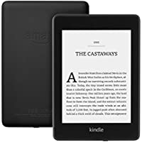 "Kindle Paperwhite | Waterproof, 6"" High-Resolution Display, 8GB—with Special Offers—Black"