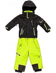 Peak Mountain - conjunto de esquí niño 10/16 años ECOSMIC-negro/anis-16 años