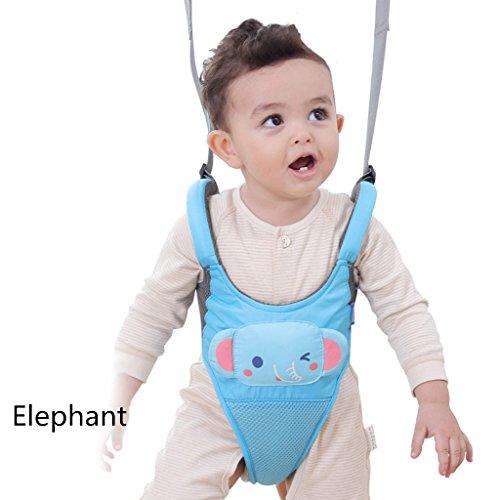 Sicherheit Kabelbaum Kleinkind Fuß Assistent Lernen Spaziergang ,Blauer Elefant ()