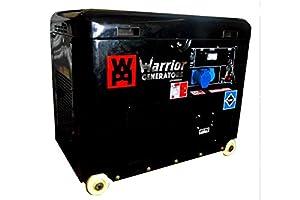 Warrior 5000W diesel Générateur d'urgence hg2000i Générateur 230V UE