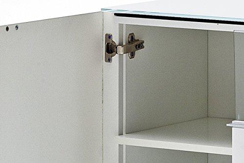 Robas Lund 48773W54 Canberra 2 Lowboard,Hochglanz weiß 165 x 41 x 58 cm - 6
