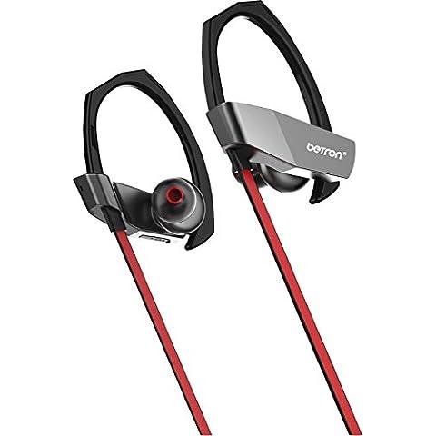 Betron BR74Bluetooth auriculares deporte auriculares para en funcionamiento, ciclismo, gimnasio, Fitness y más