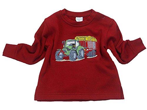 Sweatshirt Traktor Tandem Silagewagen Rot (80, rot)