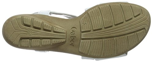 Gabor Shoes 64.550, Sandali Donna Bianco (Weiss 21)