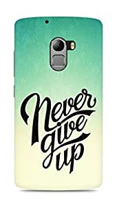 AMEZ never give up Back Cover For Lenovo K4 Note