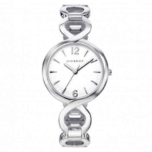Viceroy 40950–15Montre Femme Quartz Analogique Acier Bracelet Taille 28mm