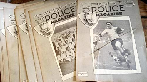 Sports police magazine 1957 - année complète 12 numéros par collectif