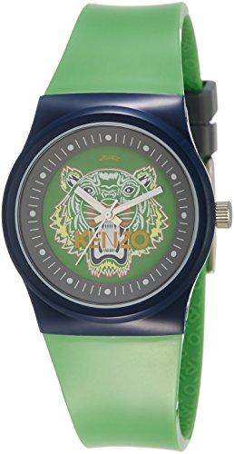 kenzo-tiger-head-unisex-green-watch-9600103