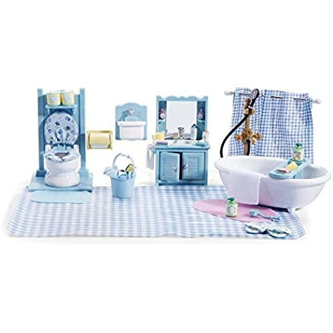 Calico Critters Master bathroom set & Accessories by Calico Critters