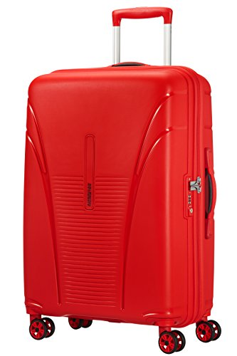 American Tourister Skytracer Valise 4 Roues, 68 cm, 63 L, Formula Red