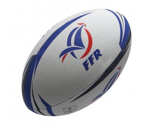 Frankreich Fans Rugby Ball Weiß/ Blau/ Rot - Weiß, 5