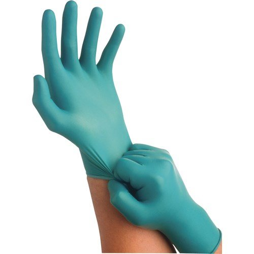 Ansell-Edmont 92-600-L Touch N Tuff Nitrile Gloves, Power Free, Size Large (8.5 - 9)
