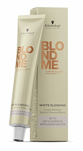 Schwarzkopf Blondme White Blending karamell 1 x 60 ml Haarfarbe Coloration