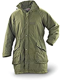 Swedish Military Issue Winter Parka, Olive Green