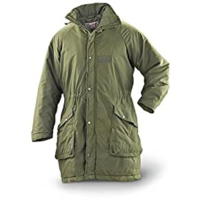 Swedish Military Issue Winter Parka, Olive Green (S
