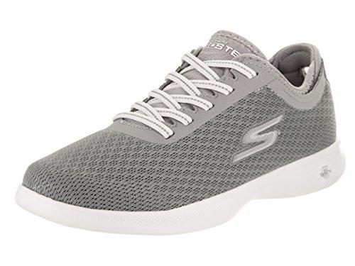 Skechers Damen Go Step Lite-Interstelllar Sneaker Gray Mesh