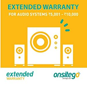 ONSITEGO 2 Year Extended Plan for Audio Systems 5001-10000 (Multicolour)
