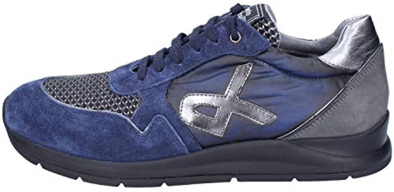 ROBERTO BOTTICELLI LIMITED scarpe da ginnastica Uomo Pelle Scamosciata Scamosciata Scamosciata Blu | Varietà Grande  a2cb4a