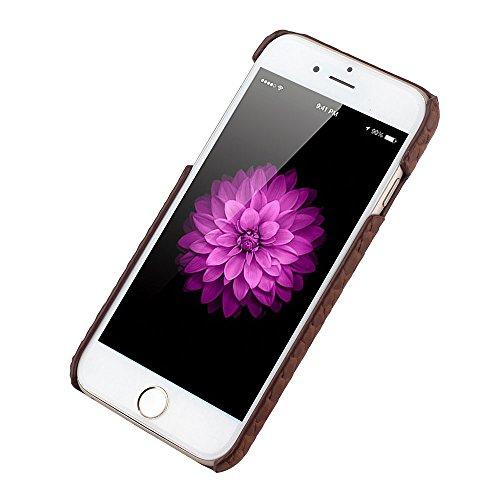 iPhone 6 Plus (5.5 inch) Coque,EVERGREENBUYING en Fibre de Carbone [Snake Pattern] IPHONE 6+/6S+ Cases Housse Etui Shock-Absorption Bumper et Anti-Scratch Back pour iPhone 6 Plus / 6s Plus Rose Noir