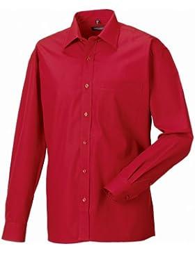 Russell - Camicia Manica Lunga Puro Cotone - Uomo
