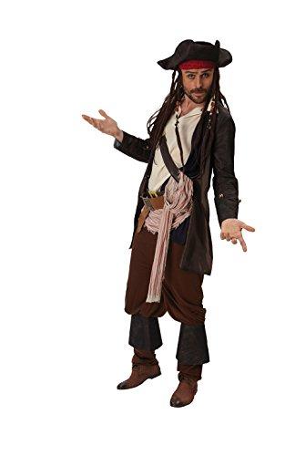 Imagen de rubie 's oficial de disney jack sparrow disfraz de–de piratas del caribe para adulto–xl alternativa