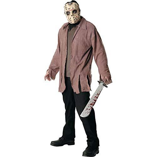 Jason Kostüm Vorhees - Freitag der 13. Jason Voorhees Herrenkostüm, Größe:L
