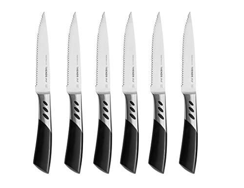 Trends Home Messerset 6 Pc Serrated Steak Knife Set 6 Pc Serrated Steak Knife Set