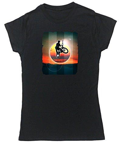 Hippowarehouse Damen T-Shirt Schwarz