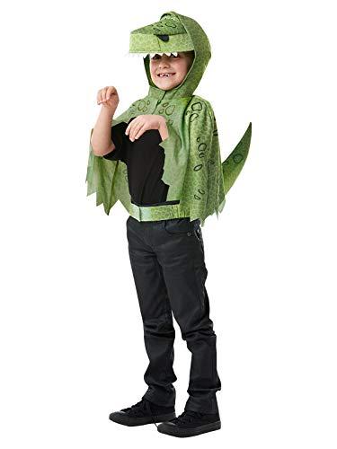 Rubie's Offizielles Disney Toy Story 4, Rex Dinosaurier Kostüm-Set für Kinder, Einheitsgröße ca. 3-6 Jahre