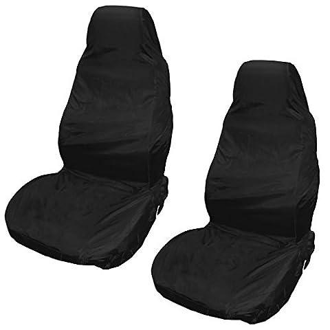 Ciaoed 2x Housse de siège avant Housse de siège universelle, imperméable à l'eau