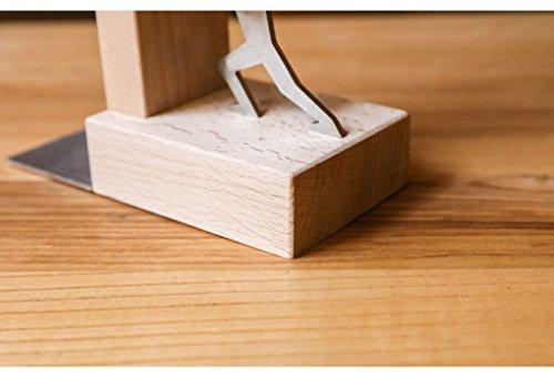 DFHHG® Soporte de libro, estantes de libros de personalidad creativa estantes de bloque durable