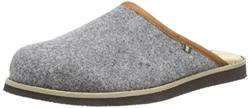 KavatNYKROPPA - Pantofole non imbottite donna , Grigio (Grau (40 TX grey)), 36
