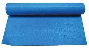 Uwin Tapis de yoga Femme Bleu/noir