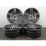4 Llantas de aleación Borbet XRT 18 pulgadas para Mercedes A B C CLA E 212 213 238