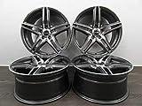 4 Alufelgen BORBET XRT 18 Zoll passend für Mercedes A B C CLA E 212 213 238 GLA GLK Vito 639 447 NEU