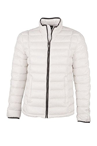 Men's Quilted Down Jacket im digatex-package Off-White/Black