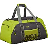 Skybags Hustle DF 55 Polyester Duffle Luggage (Green)
