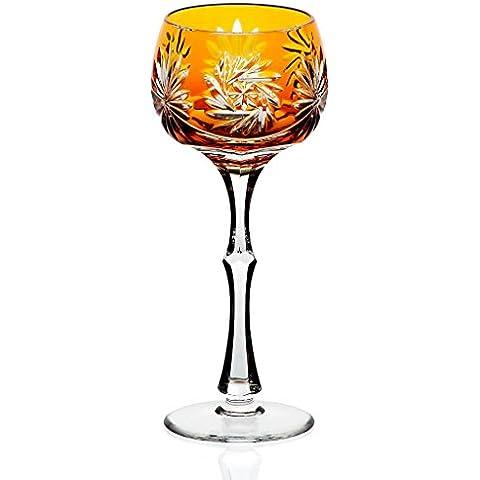 Calice vino, bicchiere vino, bicchiere cristallo