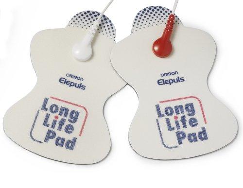 Omron Long Life Elektroden für Tens Geräte E4, E3 Intense und E2 Elite