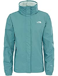 North Face W Resolve 2 Chaqueta, Mujer, Verde (Trellis Green), XS