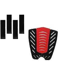 MagiDeal 7 Piezas Almohadilla de Tracción de Cola Agarre de Cubierta para Tabla de Surf Skimboard Kiteboard